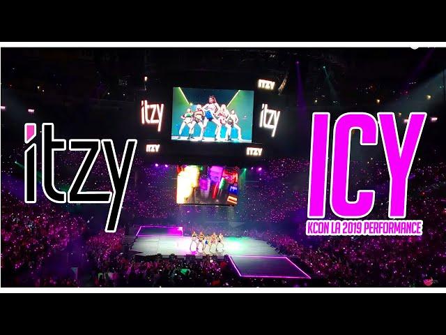 ITZY - ICY PERFORMANCE KCON LA 2019 - FAN CAM