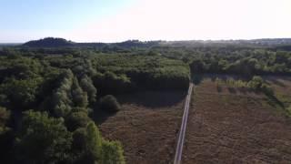 Vue Aérienne Du Lac Des Dagueys à Libourne, Gironde, Nouvelle-aquitaine