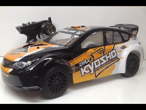 Kyosho DRX VE One 11 Rally Car - First Look!