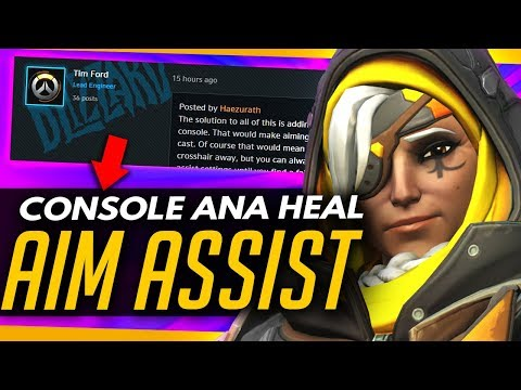 Overwatch | AIM ASSIST FOR ANA (CONSOLE) + OWL PRESEASON [News Roundup]