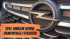 Opel Astra K - Opel Logo folieren mit Sprühfolie