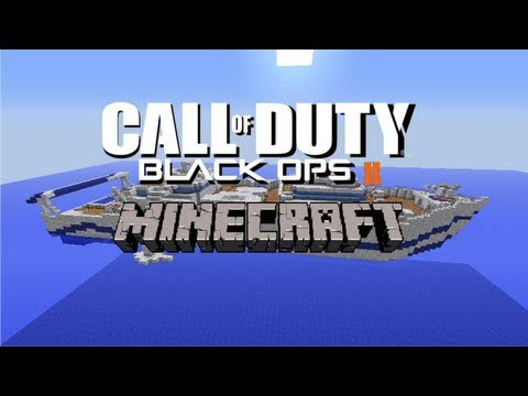 COD Black Ops 2 Minecraft: The Map Hijacked!!!