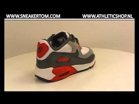 Nike Air Max 90 TD 127 WHITEGREYRED at