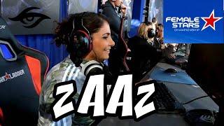 zainab zaaz turkie   female stars championship with team secret