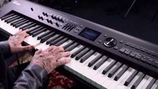 roland rd 800 digital piano demo   better music
