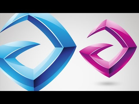 How to Design a Glossy Vector Logo in Adobe Illustrator - Tutorial