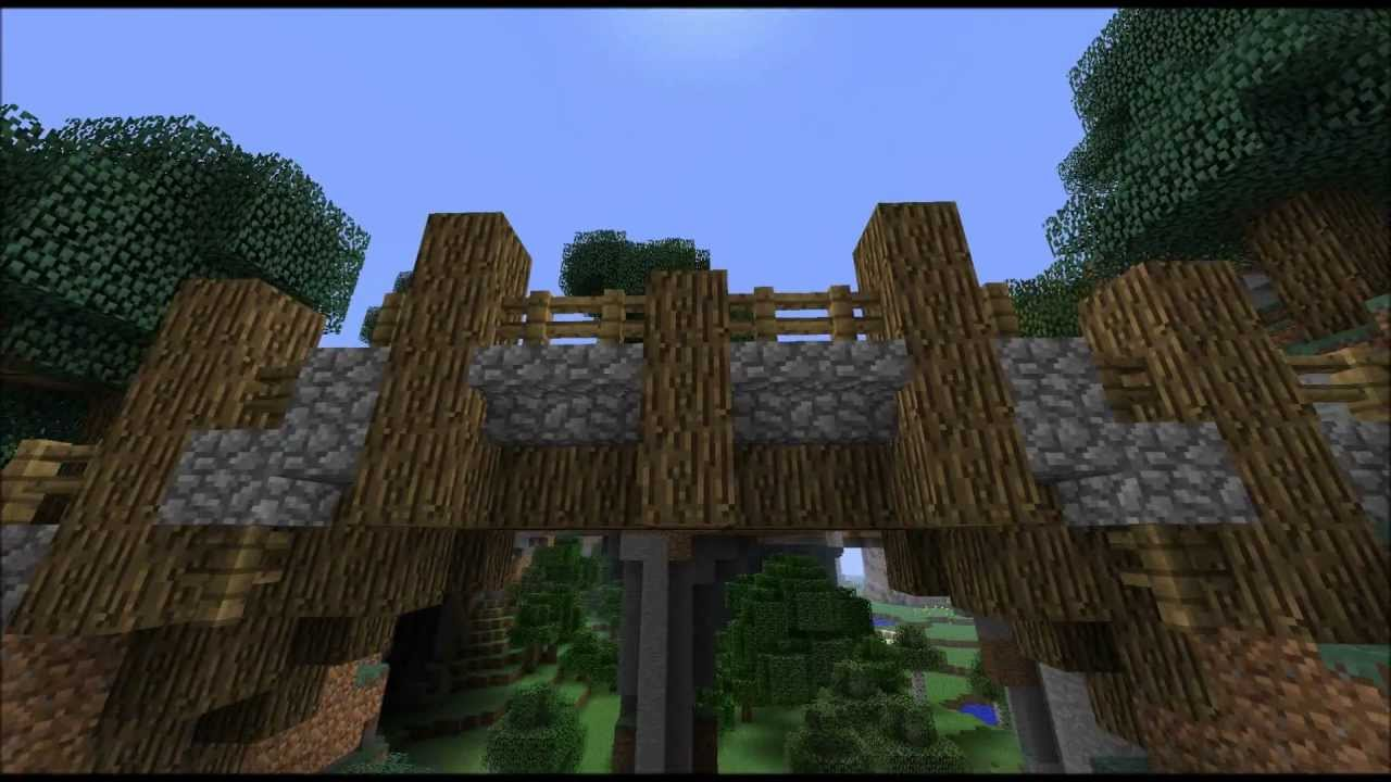 How To Build A Wooden Bridge In Minecraft Plans Diy Free