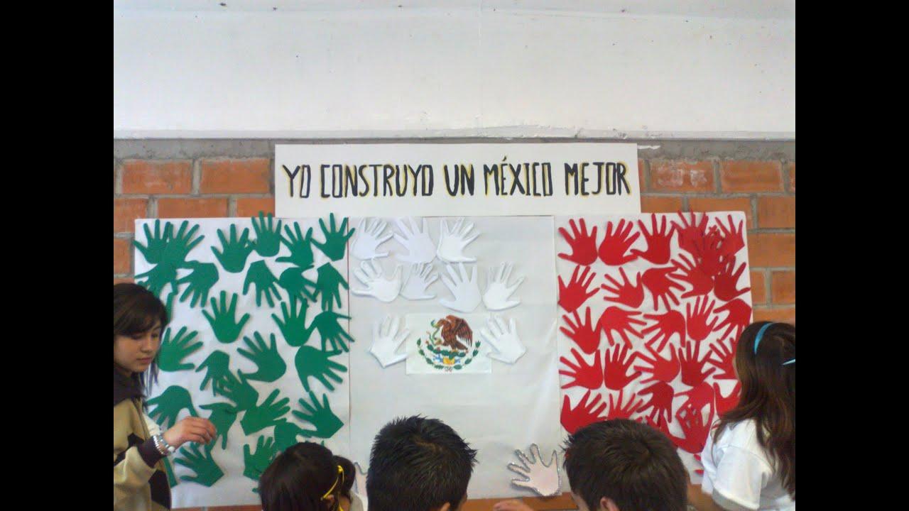 Alumnos elaboran murales para conmemorar la independencia for Diario mural fiestas patrias chile