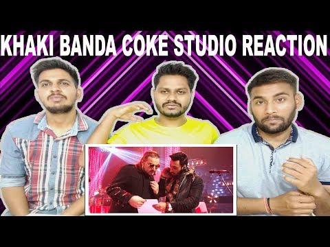 Indian Reaction On Khaki Banda | Ahmed Jahanzeb & Umair Jaswal | Coke Studio | Krishna Views