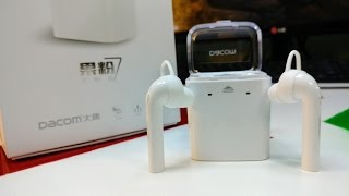 DACOM AirPods Dual Wireless Stereo Bluetooth Unboxing