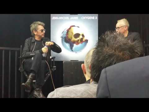Jean-Michel Jarre interview by Nic Harcourt 1/17/17 at Amoeba Music in Hollywood - Part 2