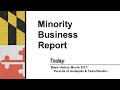 Minority Business Report - February 2017