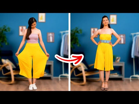 ESSENTIAL STYLE TIPS FOR GIRLS || Simple Clothes Transformation Ideas by 5-Minute Recipes!