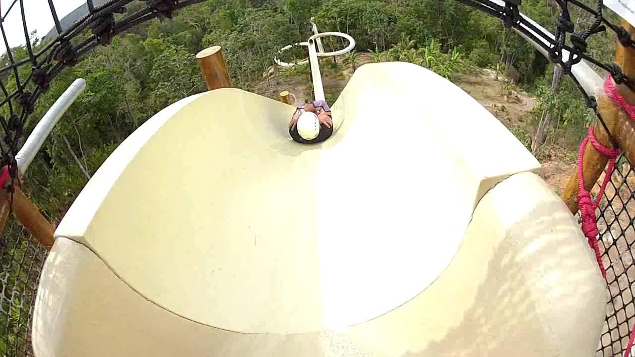 waterslide video