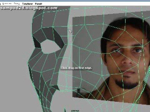 Sampad Head Modeling Part 1