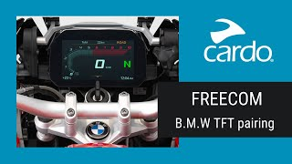 FREECOM: Pairing  BMW's TFT Tutorial
