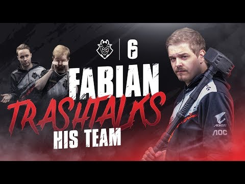 G2 Fabian Trashtalks His Team | G2 Rainbow Six Siege