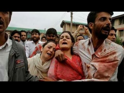 Indian army killing kashmiri innocent people by indian army.save kashmir