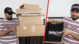 XXL FASHION PACK OPENING für 2000€ | Balenciaga, Gucci(, 2018-04-28T10:00:14.000Z)