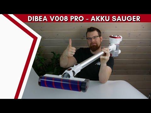 Dibea V008 Pro - Super Saugleistung zum kleinen Preis! [DEUTSCH]