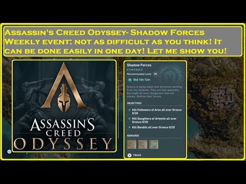 Assassin's Creed Odyssey- QUICK Shadow Forces Weekly Event thumbnail