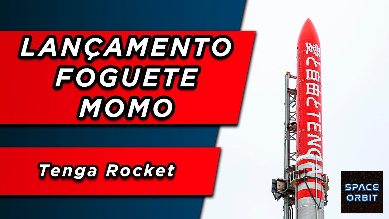 Lançamento do Foguete Suborbital MOMO  - Teng@ Rocket