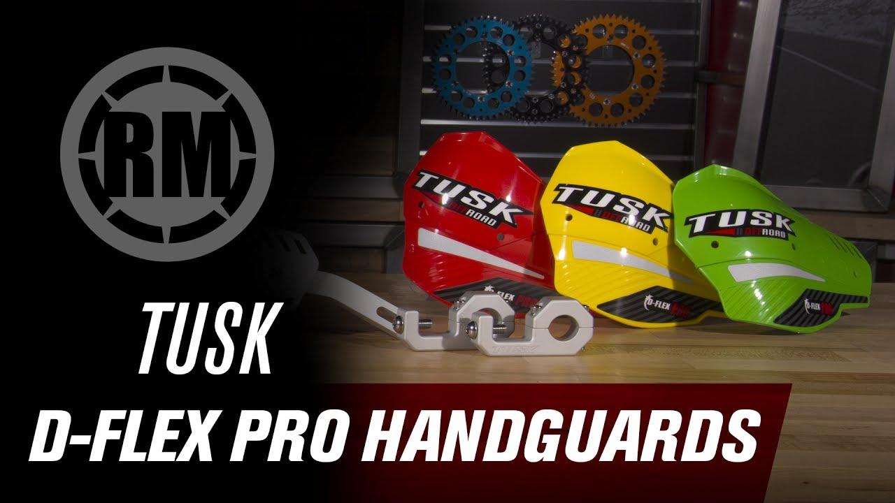 Tusk D-Flex Pro Handguards YELLOW 7//8 Bars