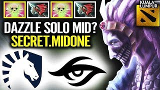 "PLEASE DON""T DO THIS AT HOME - DAZZLE MID IN MAJOR DOTA 2"