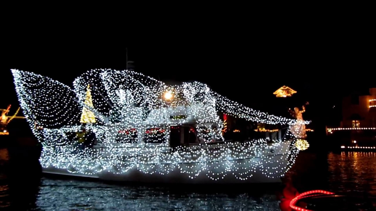 Naples Christmas Parade 2019.Huntington Harbour Boat Parade 2019 In California Dates Map