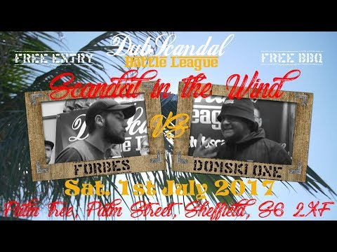 FORBES VS DOMSKI ONE | DubScandal Rap Battle