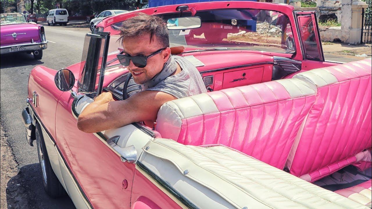 Rent a Vintage Car in Havana - YouTube