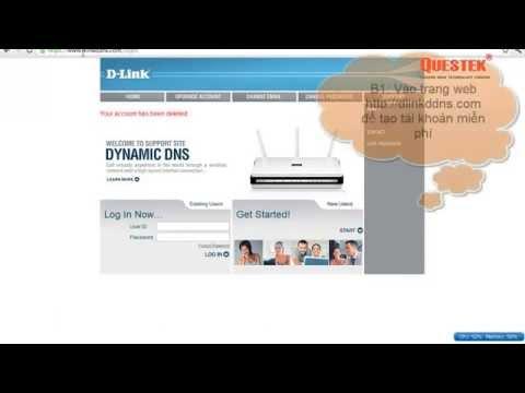 [Lapdatcamera.tic.vn] Cách đăng ký và sử dụng tên miền dyndns, camera IP, Nhà phân phối camera.
