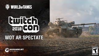 World of Tanks AR at Twitchcon