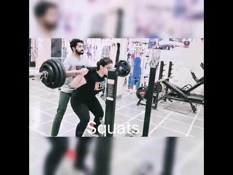 6️⃣1️⃣kg barbell squats #gymgirl#gymlover#exercise#girlpower#squats#fitness#shorts#youtubeshorts