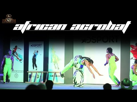 African Acrobat Performance Dsport | Zenith Dance Troupe | India
