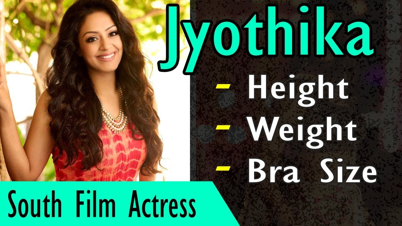 Jyothika Height and Weight | Measurements | Gyan Junction ...