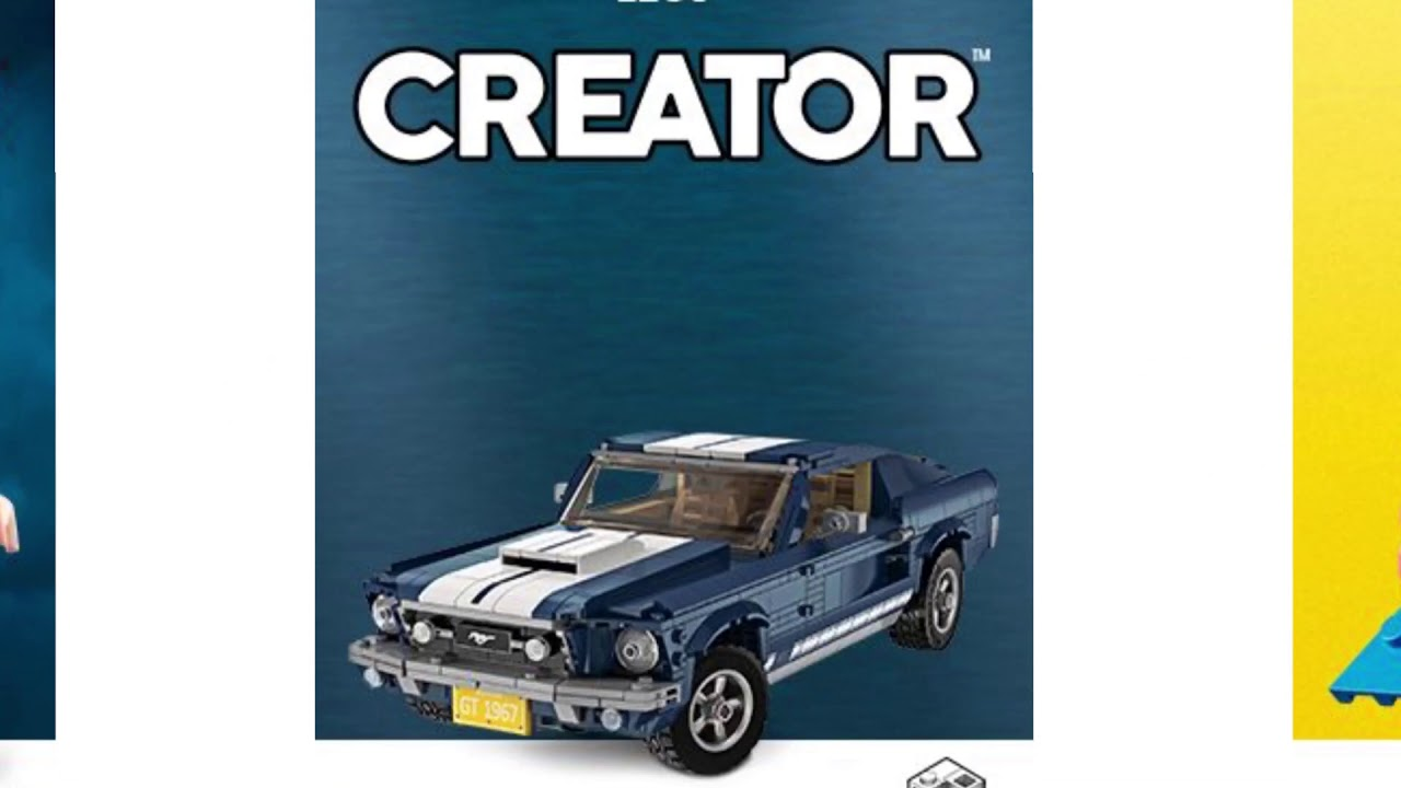 The New Lego Creator Expert 2019 10265 Ford Mustang Gt Youtube