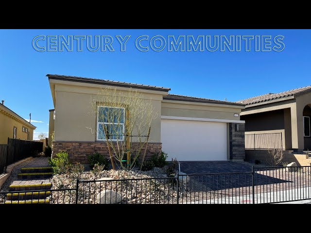 Skye Canyon New Homes For Sale | Century Communities Skye Mesa  | 1816 Home Tour | $394k+