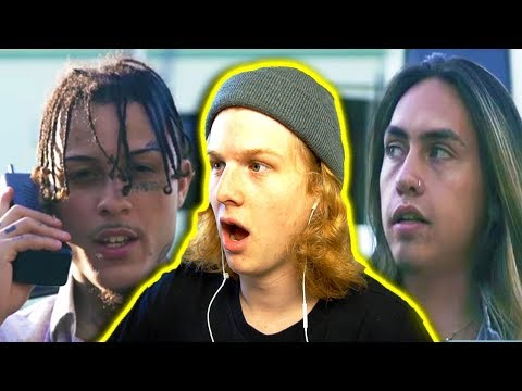 IT'S FINALLY HERE! Lil Skies - Red Roses ft. Landon Cube (Shot by @_ColeBennett_) REACTION!!!