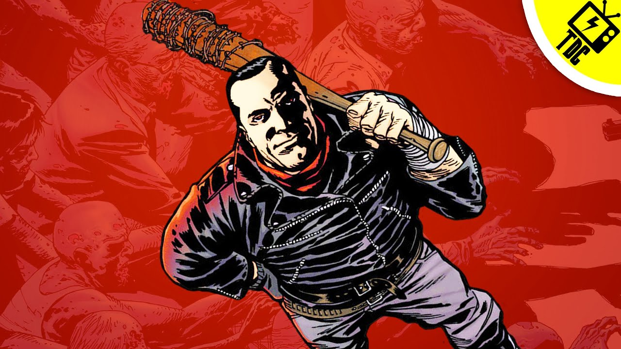 The Walking Deads Negan Everything You Need To Know Dan Cave W Casey