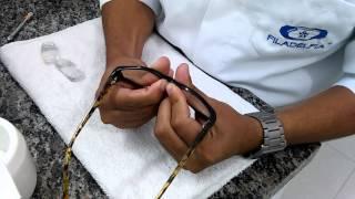 Ajuste de Óculos - Armação de Acetato