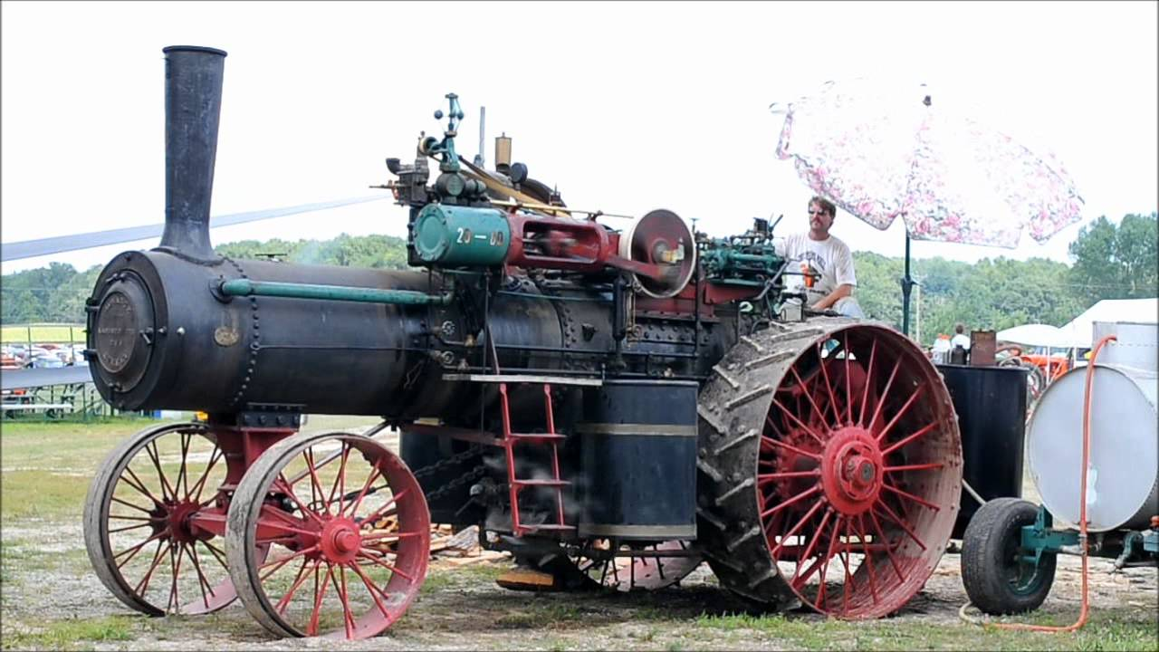 Advance Rumely Steam Engine