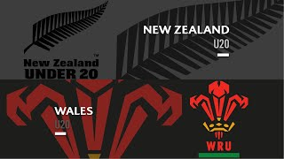 U20s HIGHLIGHTS: New Zealand vs Wales