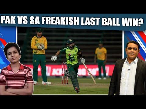 Pak Vs SA: Freakish Last Ball Win?