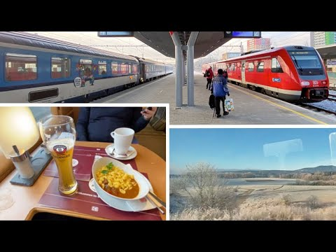 Prague to Brussels by train for €29