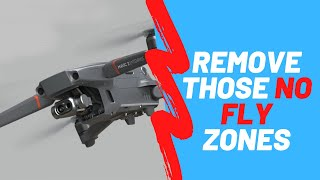 DJI no fly zones unlocked NFZ get rid of no fly zones, Fly anywhere Remove NFZ