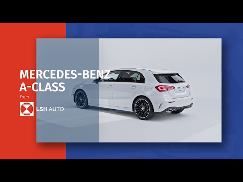 The New Mercedes-Benz A-Class from Motability at LSH Auto UK