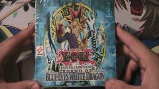 Best Yugioh 2002 Legend of Blue Eyes White Dragon 1st Edition Box Opening Ever!