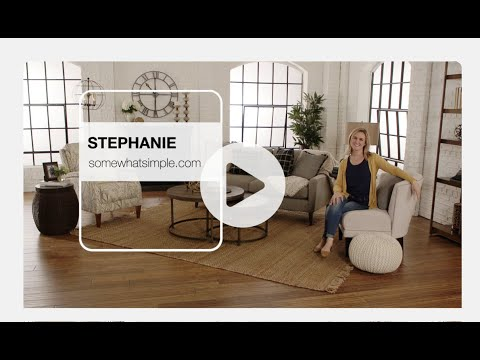 Living Room Decor + Stephanie at La-Z-Boy Design Dash!