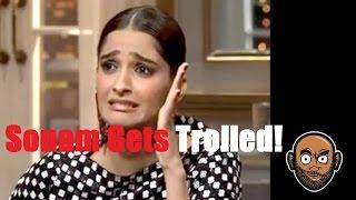 Sonam Kapoor Epic Troll By Rajeev Masand
